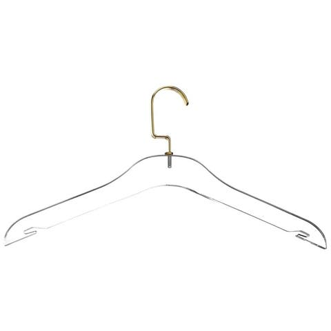 Designstyles Clear Acrylic Clothes Hangers - 10 Pk