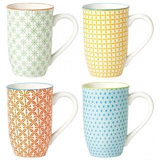 Link to 4 Piece Tall Coffee Mug Set - Color Similar Items in Dinnerware