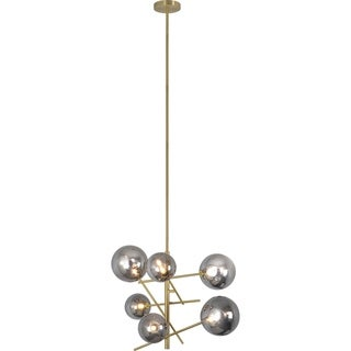 Link to Carson Carrington Taftea 6-light Sputnik Chandelier Similar Items in Chandeliers