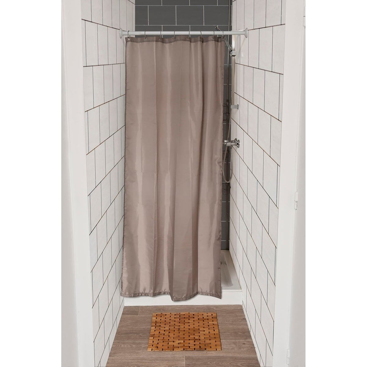 Small Stall Shower Curtain Liner