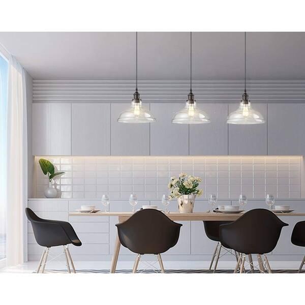 Carbon Loft Kamari Industrial Glass Kitchen Island Pendant Set Of 3 On Sale Overstock 30077104