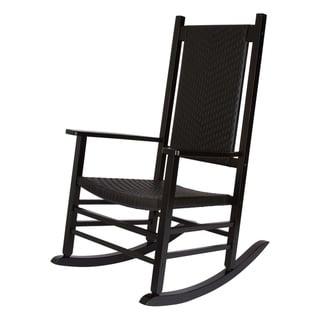 Hampton Porch Rocker - Black
