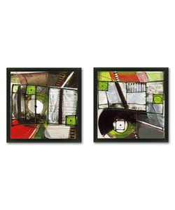 Gallery Direct Barbara Zoern 'Ambulance' 2-piece Art Set