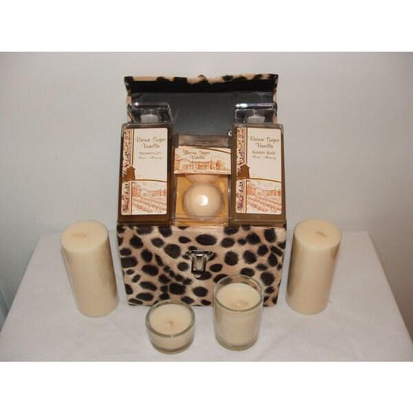 Sweet Memory Brown Sugar Vanilla 5-piece Bath Set