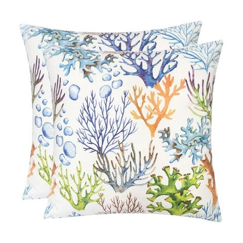 Outdoor Pillow, Coral