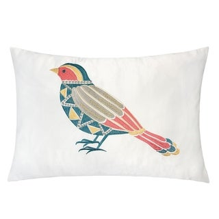 Quinn Embroidered Decorative Throw Pillow