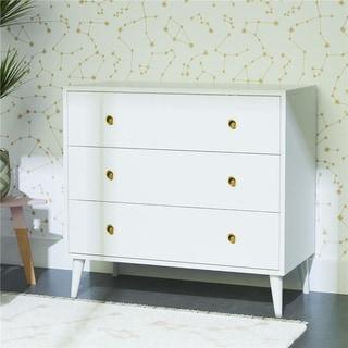 Novogratz Harper 3-Drawer Storage Dresser Organizer