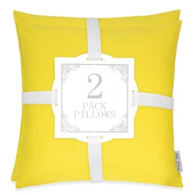 June Classic Solid Outdoor Pillow