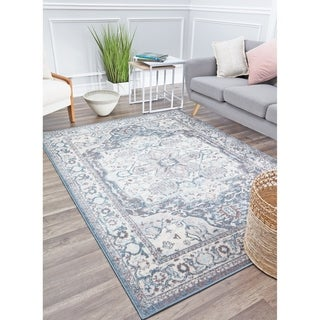 Atlas Soft Vintage Transitional Area Rug by Rugs America