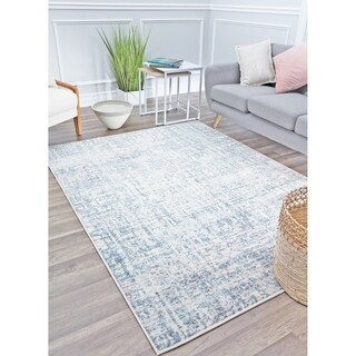 Copper Grove Tamdiep Stormy Abstract Area Rug
