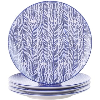 Link to Porcelain Dinner Plates, 4-Piece Porcelain Round Pasta Dishes Similar Items in Dinnerware