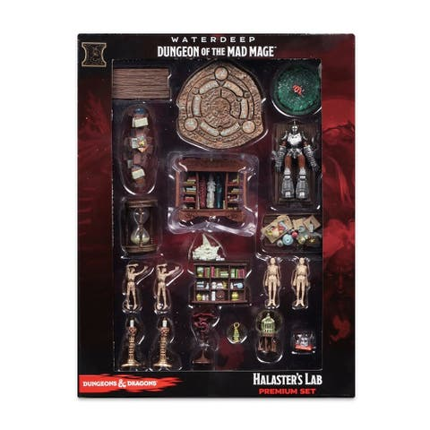 Dungeons & Dragons Icons of the Realms: Waterdeep: Dungeon of the Mad Mage - Halaster's Lab Premium Set