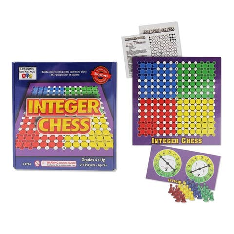 Learning Advantage Integer Chess Game
