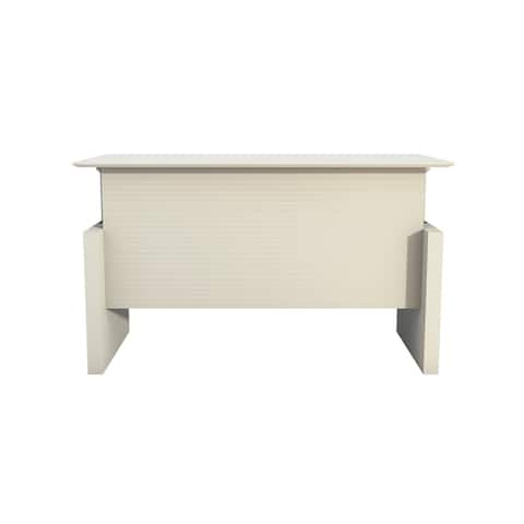 Safco Products Medina? Height-Adjustable Straight Front Desk