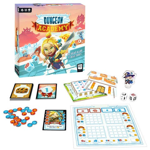 USAopoly Dungeon Academy Game