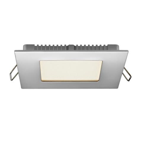 "4"" Square Led Recessed Panel With Dimmable Driver"