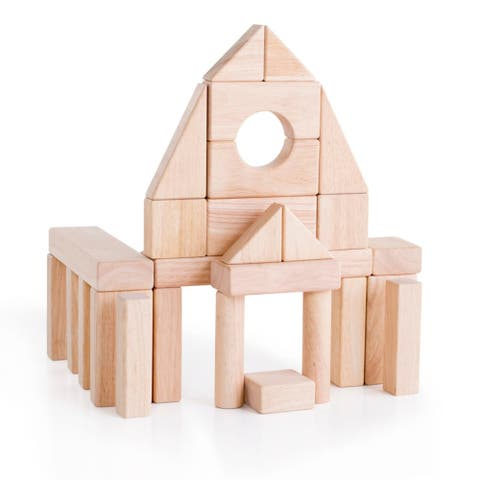 Guidecraft Unit Blocks, Set A
