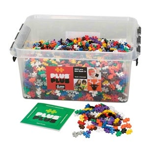 Link to Plus-Plus® School Set, 3,600 Pieces in Basic Colors Similar Items in Building Blocks & Sets