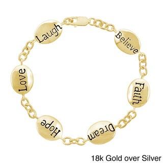 Mondevio Inscripted Inspirational Bracelet