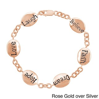 Mondevio Inscripted Inspirational Bracelet