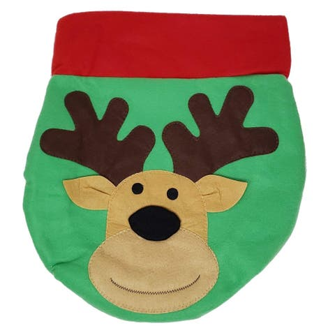 Christmas Toilet Cover Decorations, Christmas Toilet Seat Cover, Santa Style Xmas Decorations