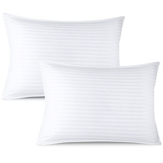 Nestl Bedding 100% Cotton Cover Premium Plush Gel Pillow