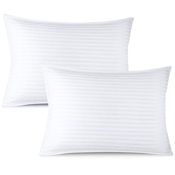 Nestl Bedding 100-percent Cotton Cover Premium Plush Gel Pillow. Opens flyout.