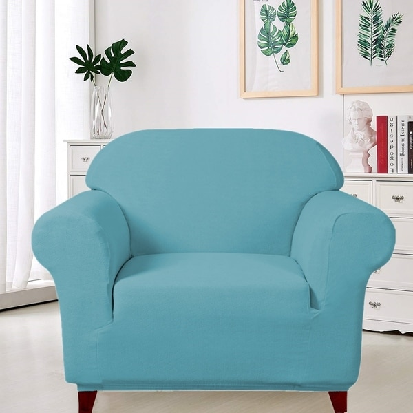 Enova Home Ultra Soft Stretch Fabric Armchair Slipcovers Removable Anti-Dirty Fitted Furniture Protector - N/A. Opens flyout.