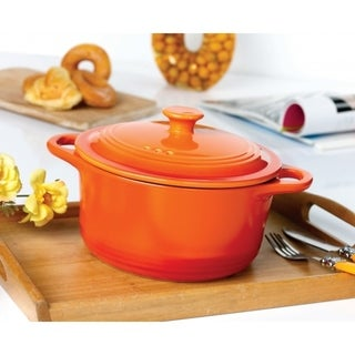 Round Casserole Pot with Lid 3 sizes available
