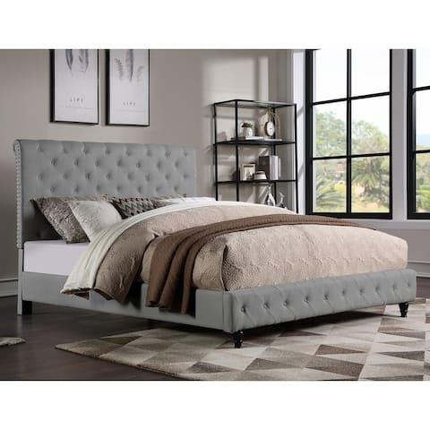 Copper Grove Santalucia Upholstered Platform Bed