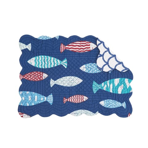 Harpswell Reversible Placemat Set of 6