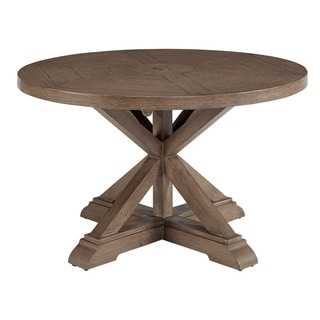 A.R.T. Furniture Summer Creek Outdoor Round Dining Table - w-48 x d-48 x h-35.75