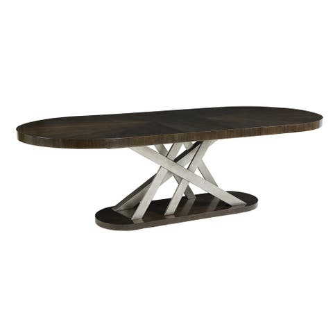 A.R.T. Furniture Prossimo Auguri Oval Dining Table - w-122.99 x d-45 x h-30