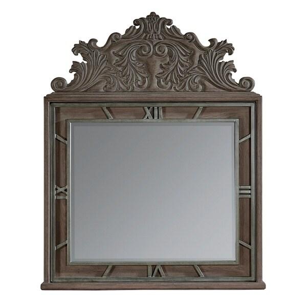 A.R.T. Furniture Vintage Salvage Benjamin Mirror - w-46.77 x d-3.62 x h-58.03