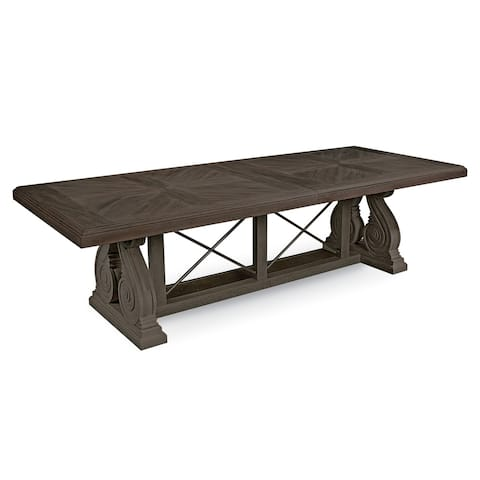 A.R.T. Furniture Vintage Salvage Pearce Dining Table - w-135.98 x d-45.98 x h-29.84