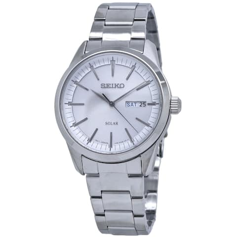 Seiko Men's SNE523 Solar Stainless Steel Watch
