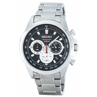 Link to Seiko Men's SSB241 Chronograph Stainless Steel Watch Similar Items in Men's Watches