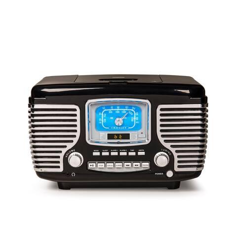 Corsair Alarm Clock Radio in Black