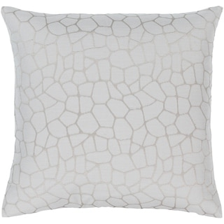Mater Jacquard Pebble Throw Pillow Cover