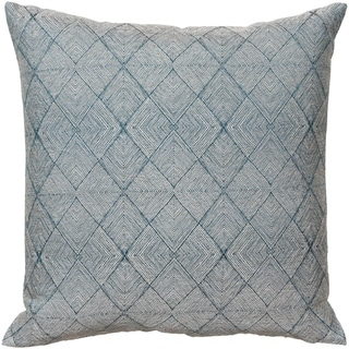 Mamou Jacquard Metallic 18-inch Down or Poly Throw Pillow