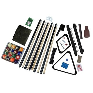 Link to Hathaway Deluxe Billiards Accessory Kit - Black Finish Similar Items in Billiards & Pool