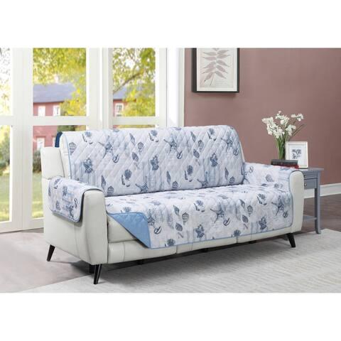 Harper Lane Ocean Postcards Reversible Sofa Furniture Protector