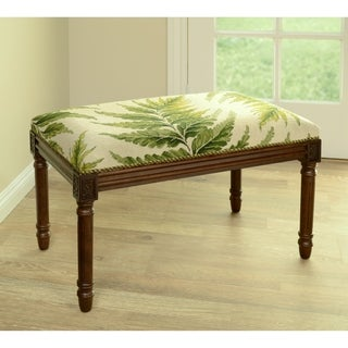 Link to Fern Needlepoint Bench Similar Items in Living Room Furniture