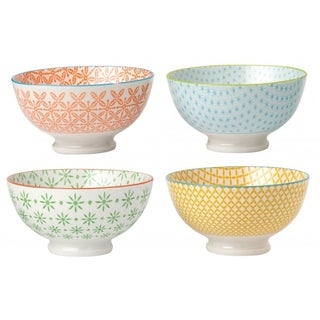 4 Piece Cereal Bowl Set - Color