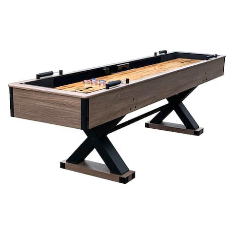 Hathaway Excalibur 9-ft Shuffleboard Table