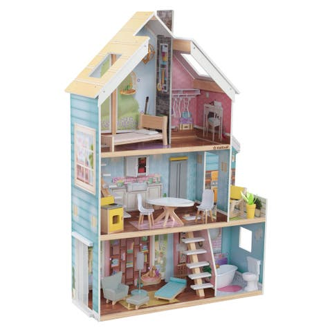 Zoey Magic Lights & Sounds Dollhouse with EZ Kraft Assembly