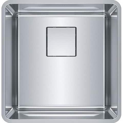 Franke Pescara 17-In 18 Gauge Undermount Kitchen Sink - 18.2 x 17.75