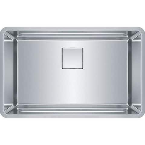 Franke Pescara 28-In 18 Gauge Undermount Kitchen Sink - 18.5 x 29.5