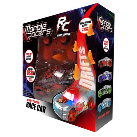 Marble Racers RC Drifting Race Car - Red