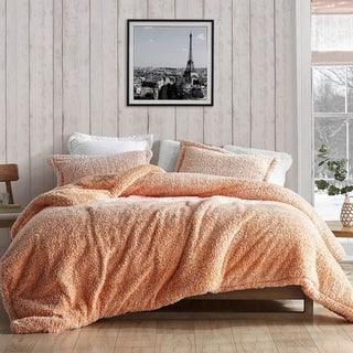 Coma Inducer Oversized Comforter - Two Tone - Orange Popsicle